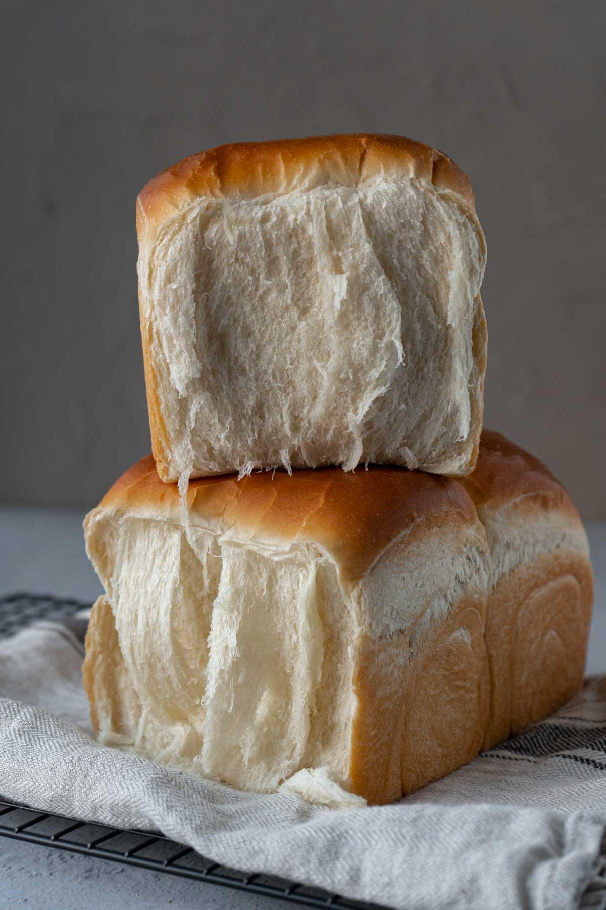 Side of milk bread.