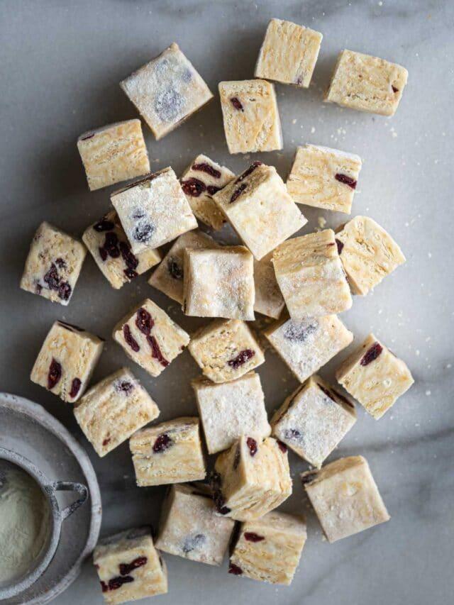 Snowflake Crisp (Milk Nougat Bites)